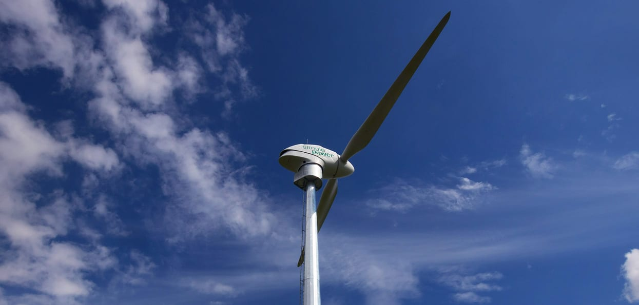 Entry into Wind Energy market through Simple Power