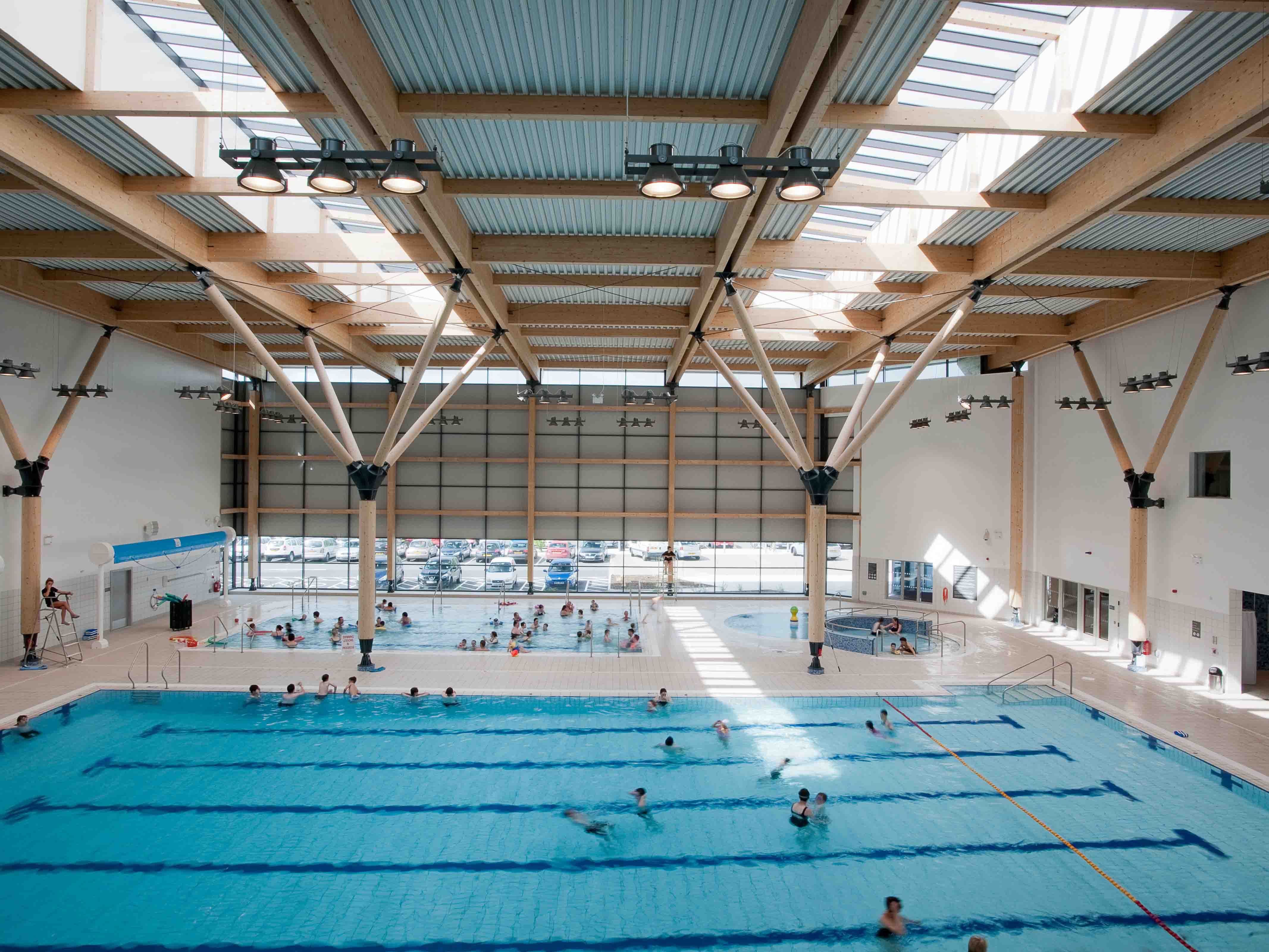 Omagh Leisure Complex Building Construction Engineering Property Development Heron Bros Ltd