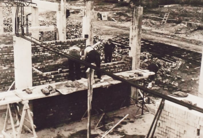 Construction of Dungannon Council Offices.
