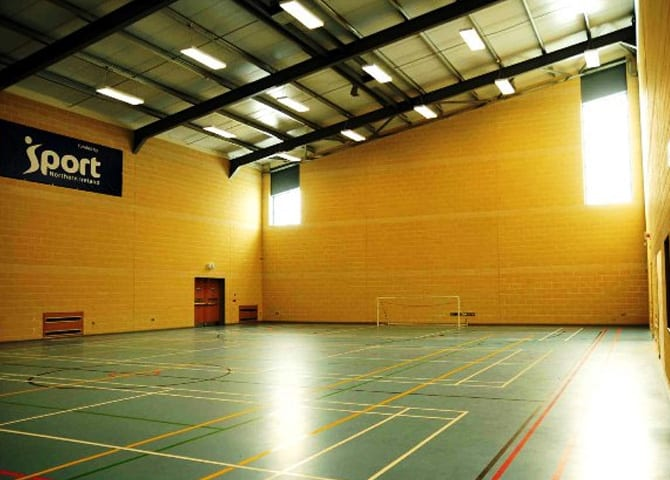 Garvagh Sports Hall Amp Community Centre Building