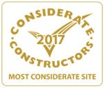 Considerate Constructors Scheme - Most Considerate Site 2017 for £10m - £50m Projects 2017