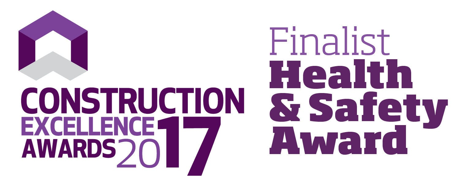 Construction Excellence Health & Safety Award Finalist 2017