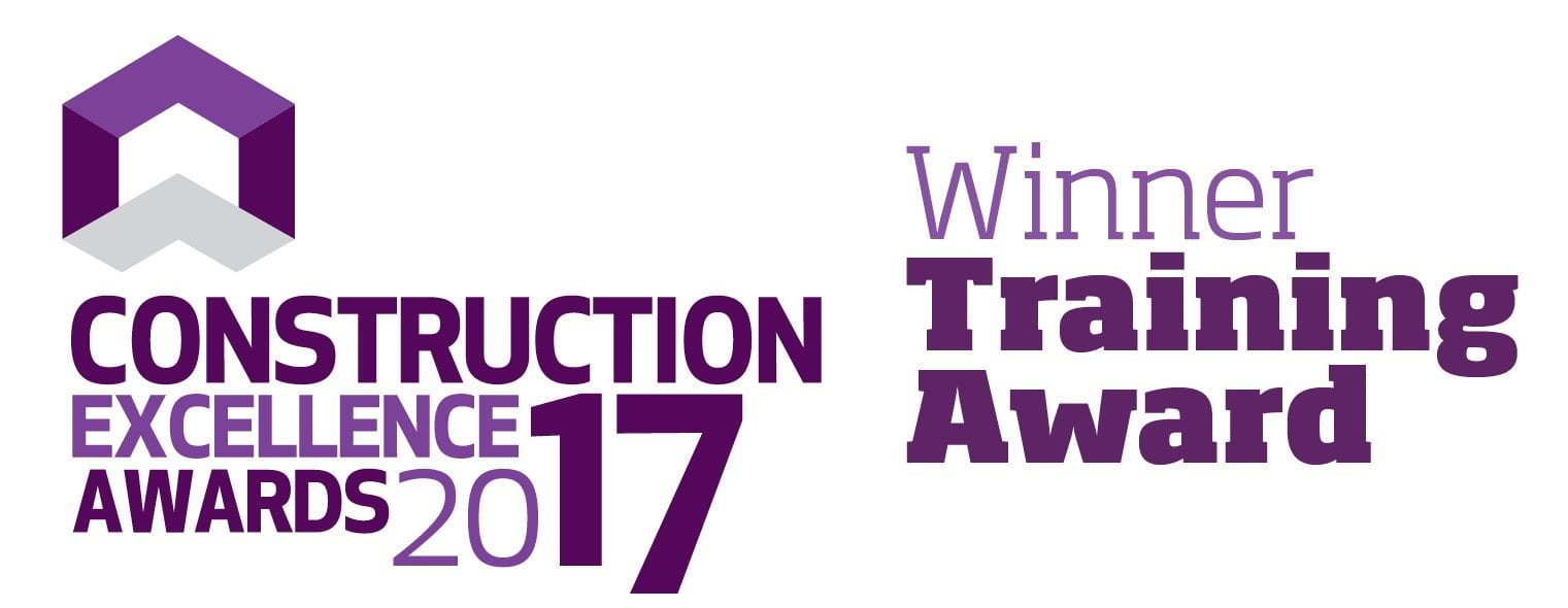 Construction Excellence Training Award WINNER 2017