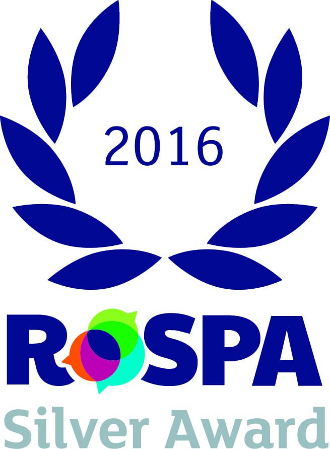 Silver RoSPA Award 2016