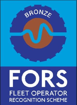FORS Bronze award for Fleet Operation Safety 2017