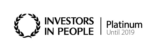Investors in People - Platinum until 2019