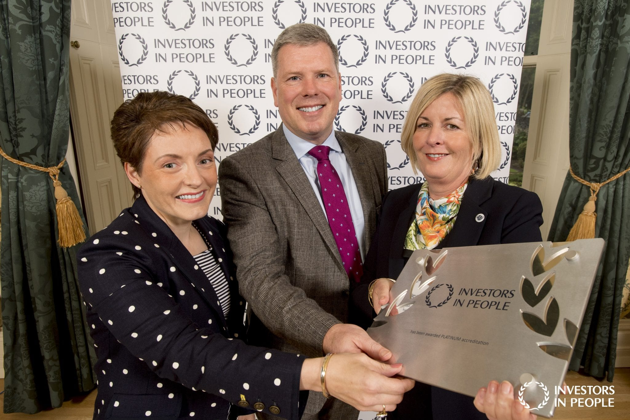 First UK Construction company to achieve Investors in People Platinum