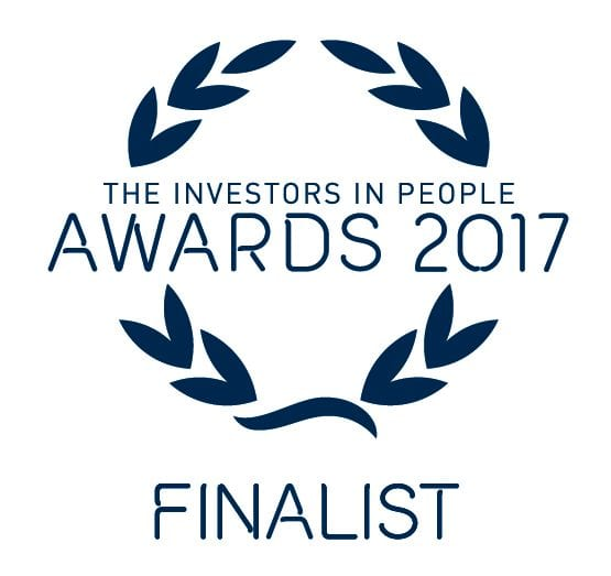 Investor in People Awards  2017 - Platinum Employer of the Year Finalists