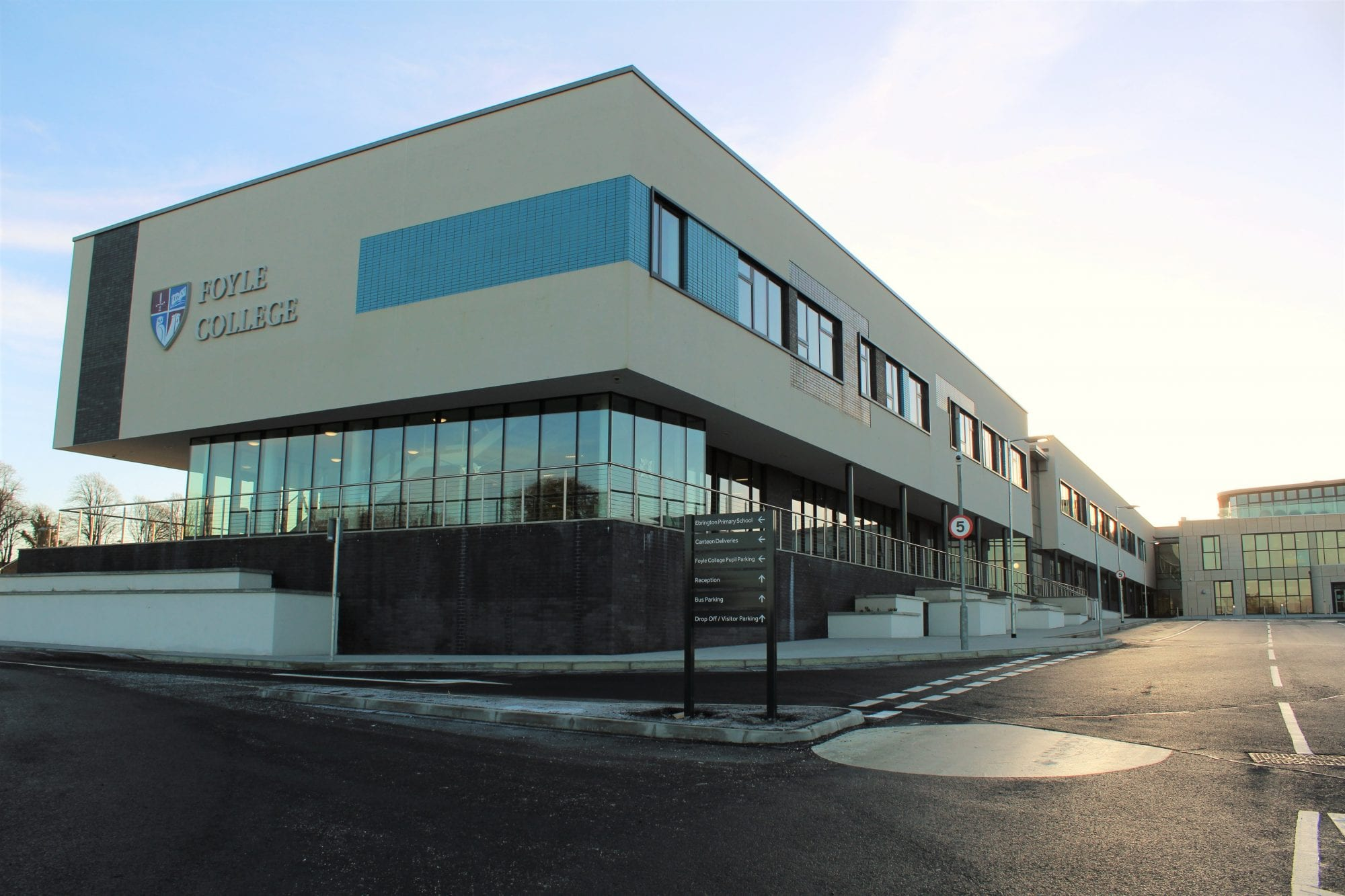 foyle college  ebrington ps nursery building construction engineering property