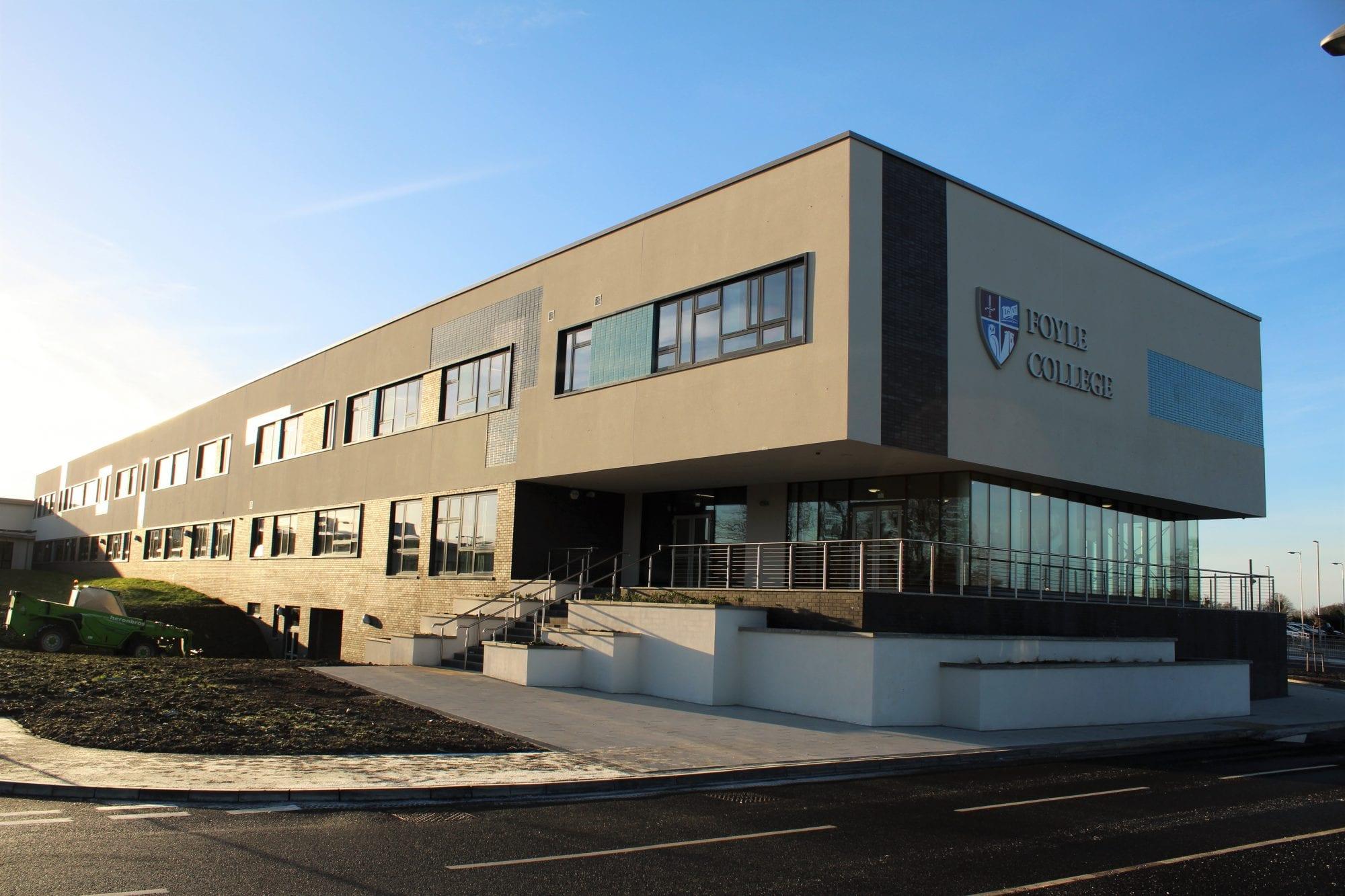Foyle College And Ebrington Ps Nursery Building Construction Engineering Property Development Heron Bros Ltd