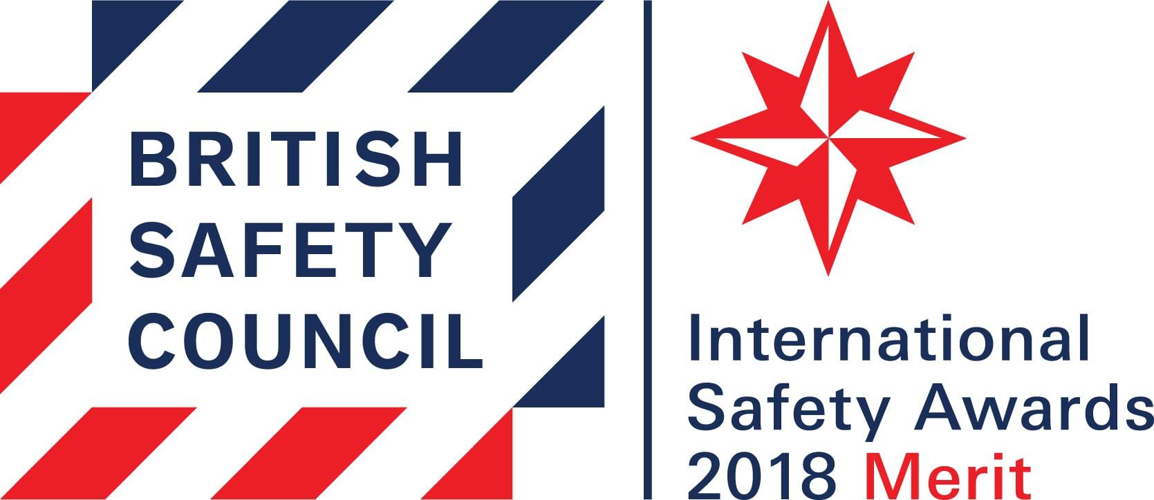 British Safety Council International H&S Award - Merit