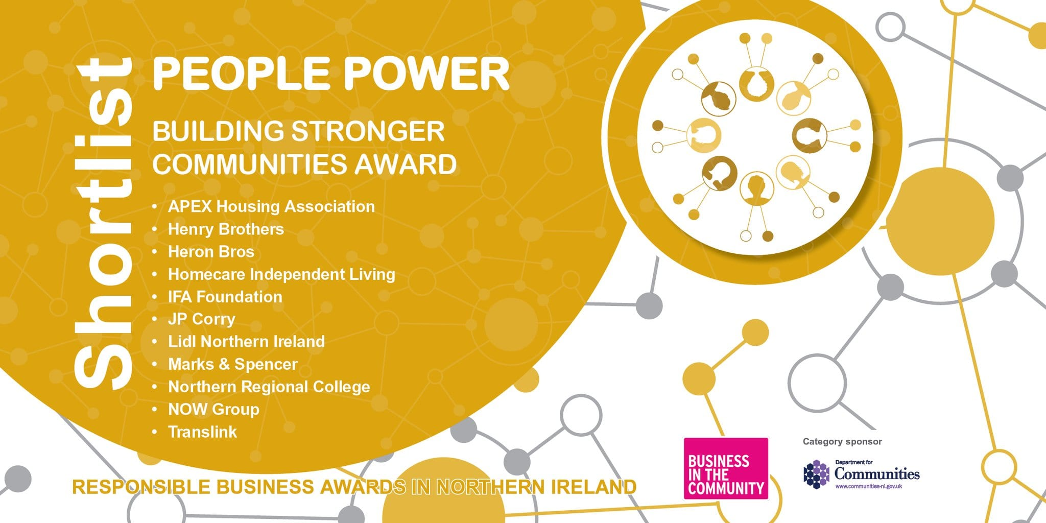 Business in the Community - Building Stronger Communities Award 2018 - Finalist