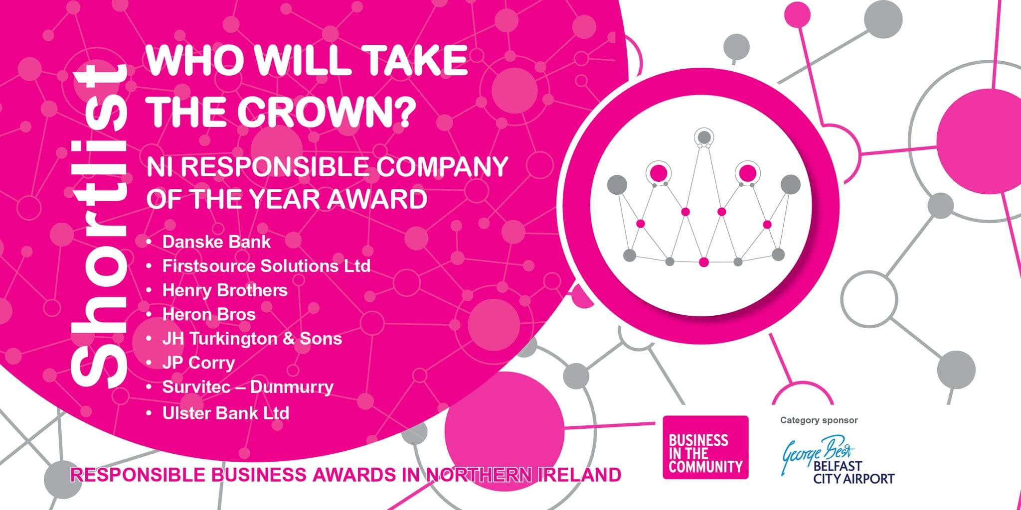 Business in the Community - NI Responsible Company of the Year Award 2018 - Finalist