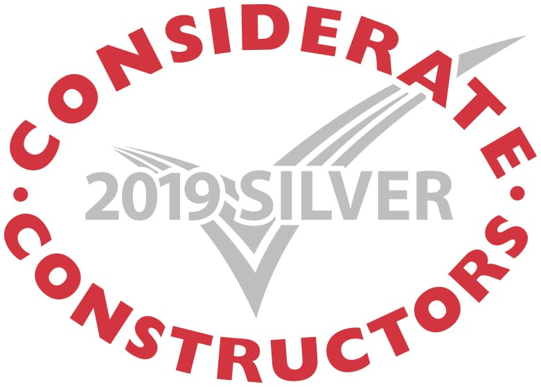 Silver Considerate Constructors Scheme National Site Award 2019