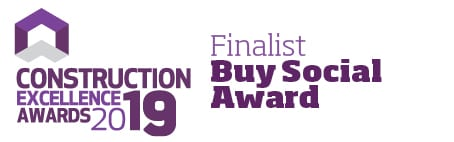 Construction Excellence Awards 2019 - Buy Social Finalist