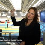 Katie McIntyre reports from the official opening of the National Indoor Arena, Dublin